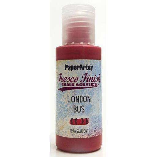 Fresco Finish Paint - London Bus