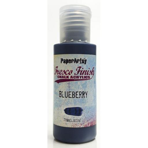 Fresco Finish Paint - Blueberry