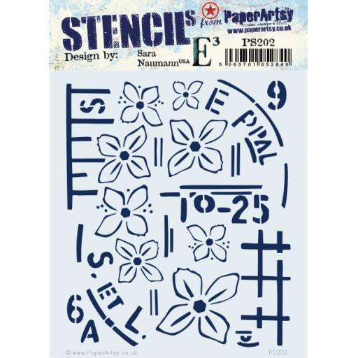 PaperArtsy - PA Stencil 202 {ESN}