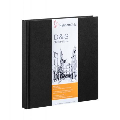 Hahnemuhle D & S 14x14cm x 80 Sheets/160 Pages