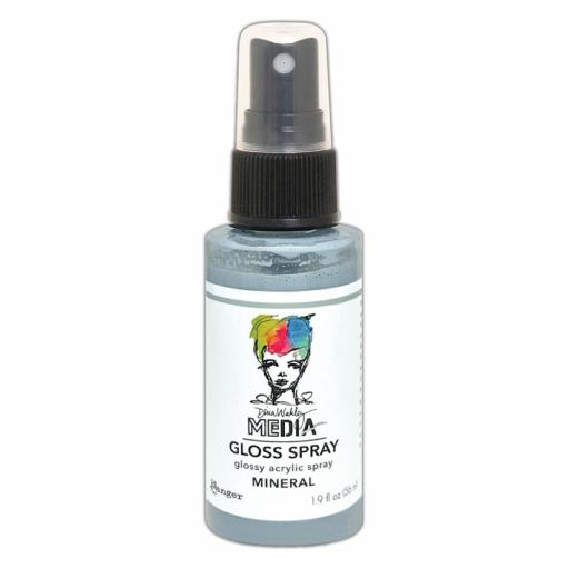 Ranger- Dina Wakley MEdia Gloss Spray - Mineral
