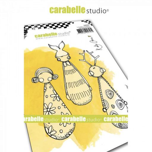Carabelle Studio • Kate Crane Little Skittles Cling stamp A6