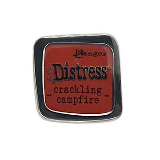 Tim Holtz ® Distress Enamel Pin - Crackling Campfire