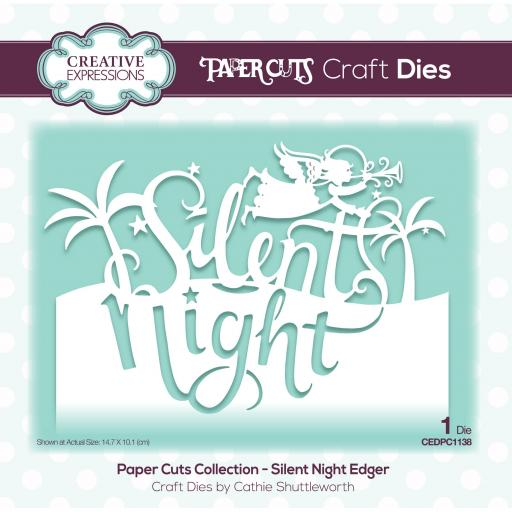 Creative Expressions Paper Cuts Silent Night Edger Craft Die