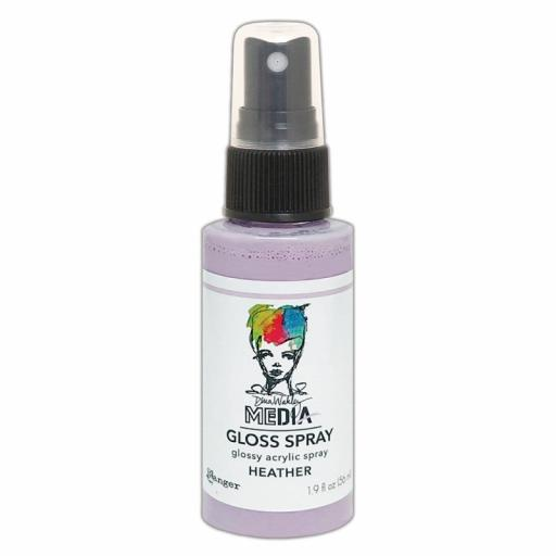 Ranger- Dina Wakley MEdia Gloss Spray - Heather