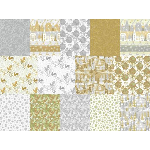 Holiday Village by Whistler Studios x Fat Quarter Bundle