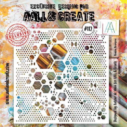 Aall & Create - #112 - 6'x6' Stencil