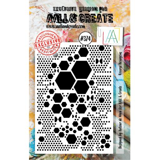Aall & Create #374 A7 stamp