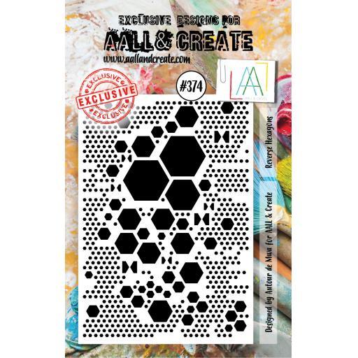 Aall & Create #374 A7 stamp