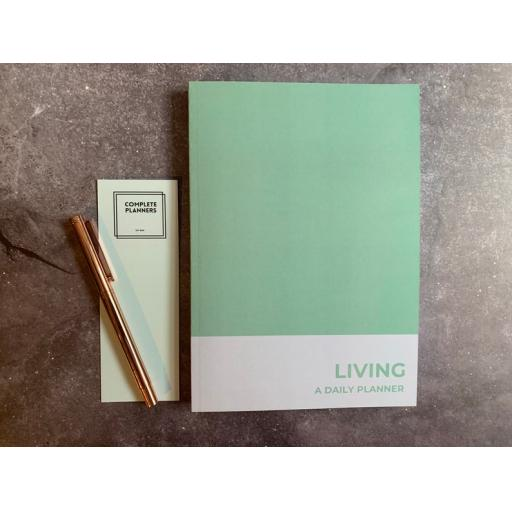 Living - Daily Planner - A5