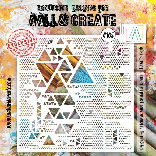 Aall & Create - #105 - 6'x6' Stencil
