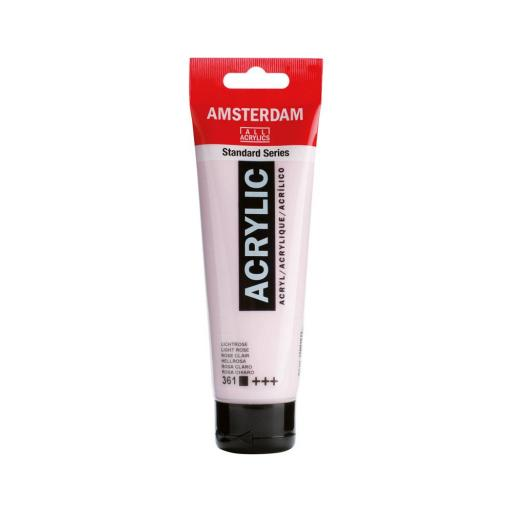 Talens Amsterdam Standard Acrylic Paint-120ml - Light Rose 361
