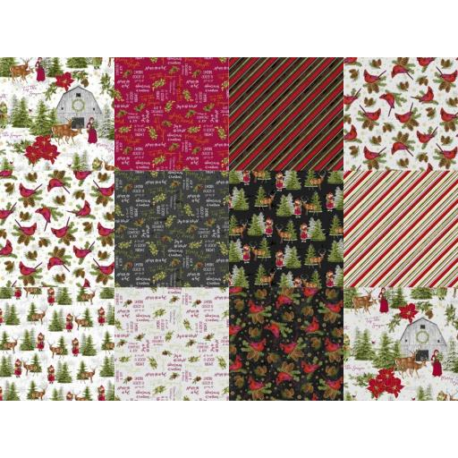 Comfort and Joy by Katie Pertiet for Whistler Studios x Fat Quarter Bundle