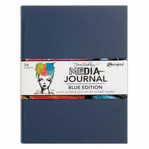 Blue Edition Dina Wakley Media Journals