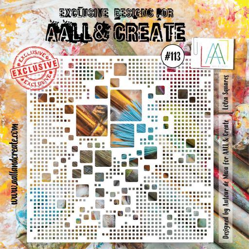 Aall & Create - #113 - 6'x6' Stencil