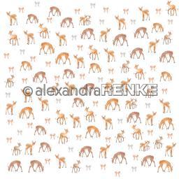 Design paper 'Floral christmas deer rapport'.jpg