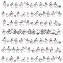 Design paper 'Floral christmas snowman rows'.jpg
