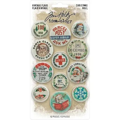 Tim Holtz™ Idea-ology- Christmas Vintage Flair TH94105