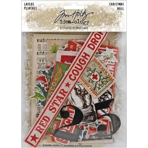 Tim Holtz® Idea-ology™ - Layers Christmas TH94092