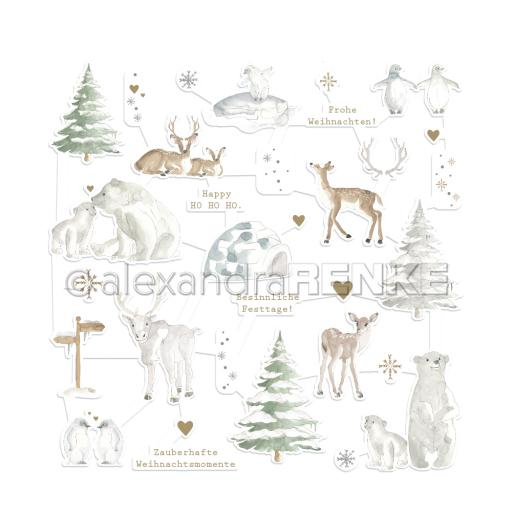alexandreRENKE - Figurine 'Christmas animals'