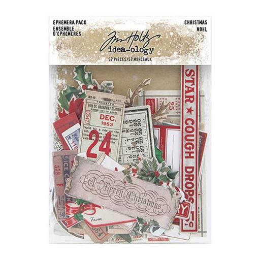 Tim Holtz™ Idea-ology- Christmas Ephemera TH94086