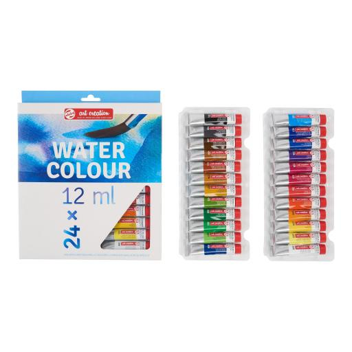 Talens Art Creation Watercolour Water Colour Set 24 x 12 ml