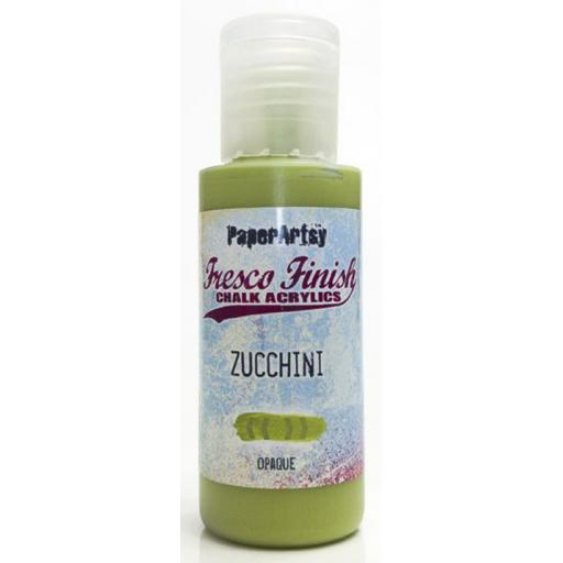 Fresco Finish Paint - Zucchini