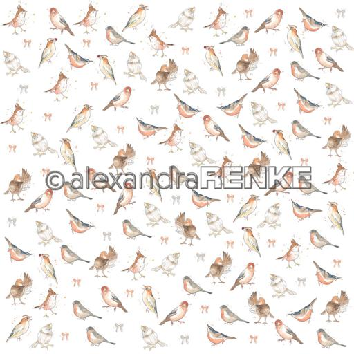 Design paper 'Floral christmas bird rapport'.jpg