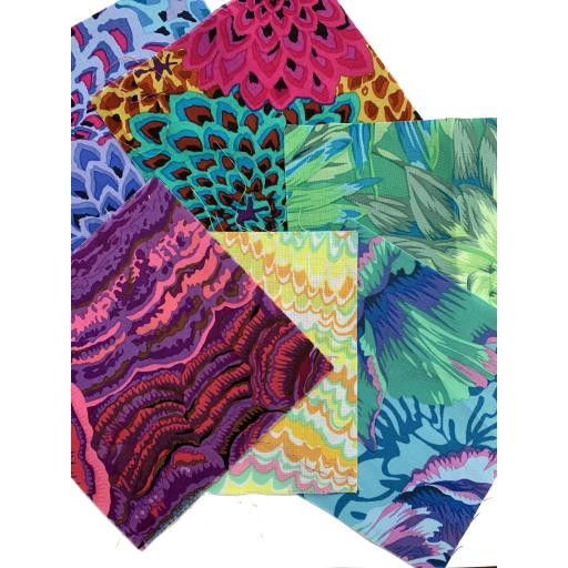 "Special Offer - 6 x 5"" Charms by Kaffe Fassett"