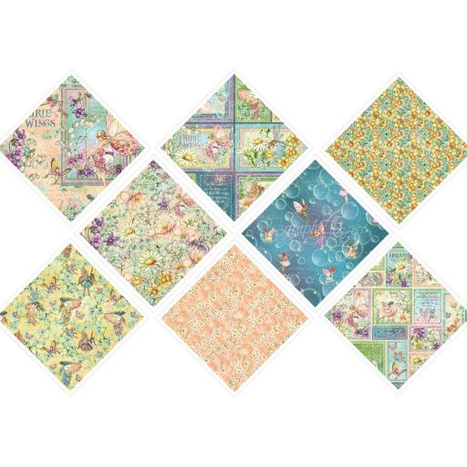Special Offer -Graphic 45 - Fairie Wings Collection 12x12 x ALL 8 Papers