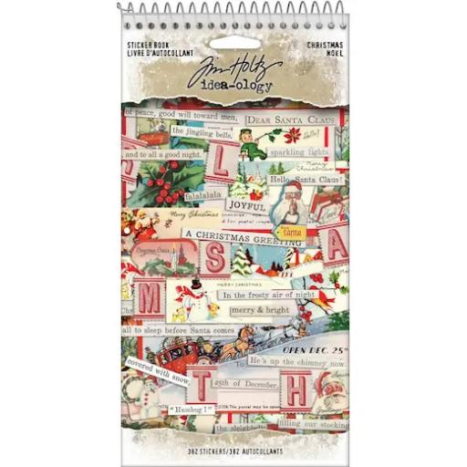 Tim Holtz™ Idea-ology- Christmas Sticker Book TH94091
