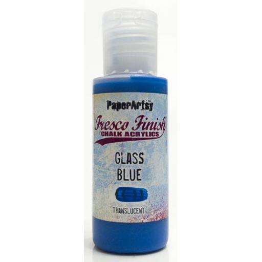 Fresco Finish Paint - Glass Blue