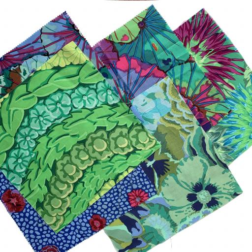 "Special Offer - 6 x 10"" Charms by Kaffe Fassett"