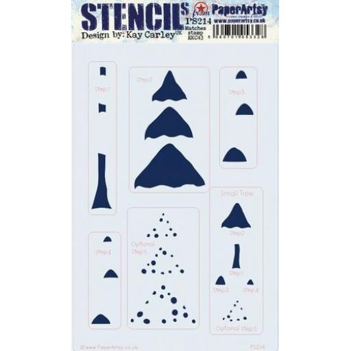 PA Stencil 214 Large {EKC}