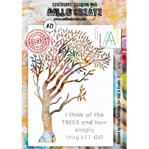 Aall & Create Stencil A5 #72