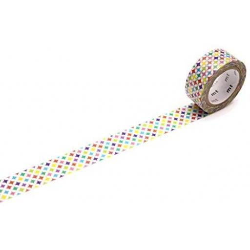 mt fab Sparkling Circle washi tape