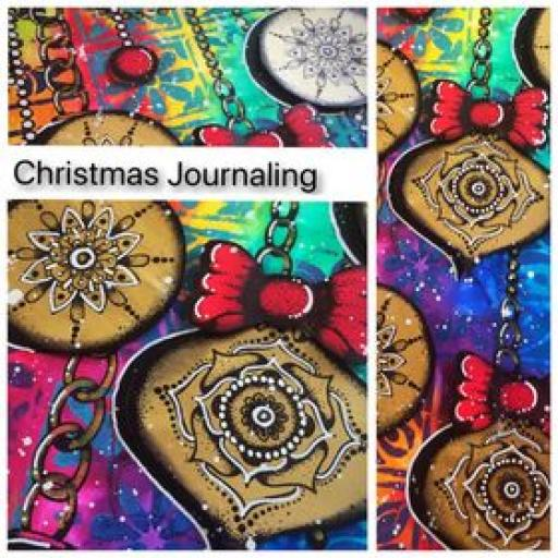 Saturday 5th December 10.00am-1pm Online Class- Christmas Journaling with Tracy Scott