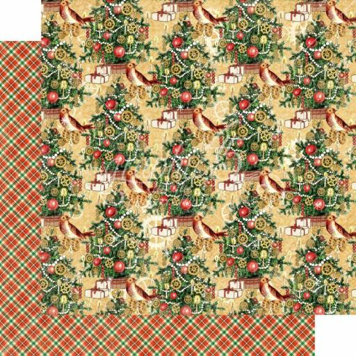 Graphic 45 -Christmas Time- Trim the Tree 12x12 Paper