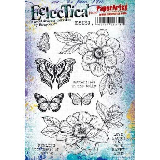 PaperArtsy - E³ Scrapcosy 23 (A5 set, trimmed, on EZ)+ Free mini project with all orders over £30