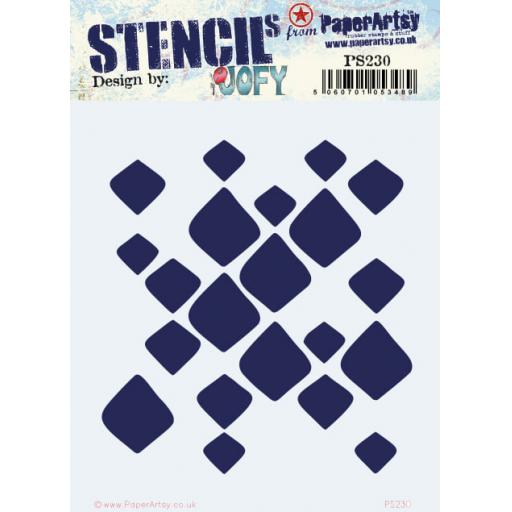 PaperArtsy - PA Stencil 230 {JOFY}