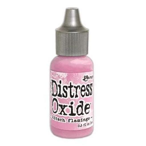 Tim Holtz ® Distress Oxide Ink Pad Re-Inker - Kitsch Flamingo February