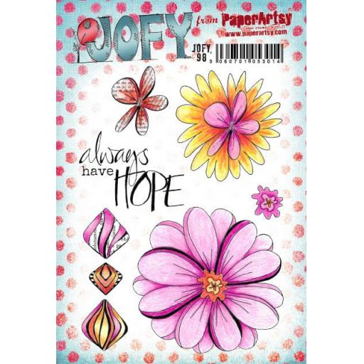 PaperArtsy - JOFY98 (A5 set, trimmed, on EZ)
