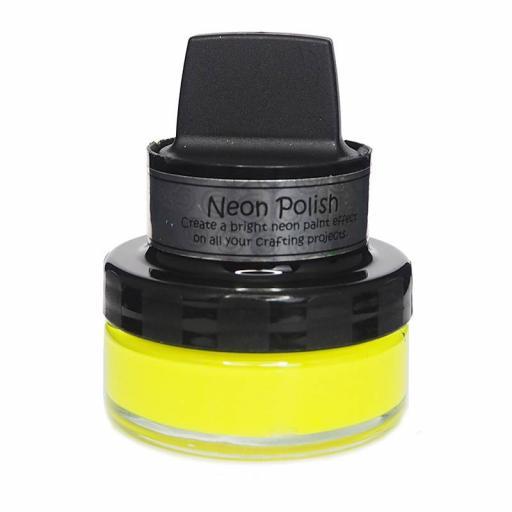 Cosmic Shimmer Neon Polish Happy Yellow 50ml
