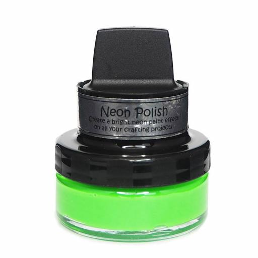 Cosmic Shimmer Neon Polish Absinthe Green 50ml