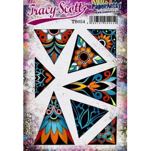 PaperArtsy - Tracy Scott 054 (A5 set, trimmed, on EZ)