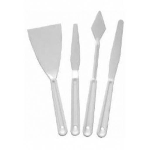 Palette Knives set of 4