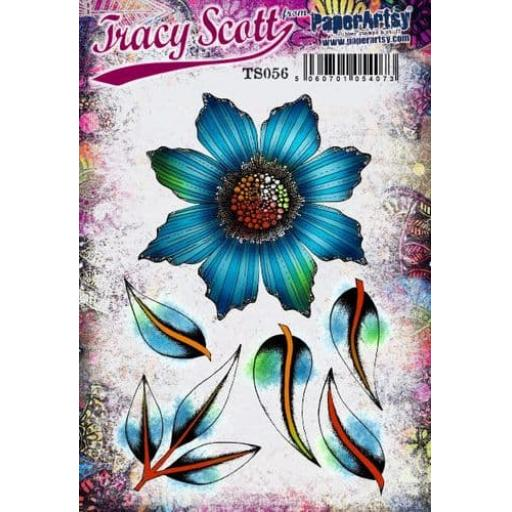 PaperArtsy - Tracy Scott 056 (A5 set, trimmed, on EZ)