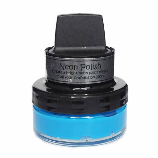 Cosmic Shimmer Neon Polish Bahama Blue 50ml
