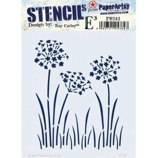PaperArtsy - PA Stencil 241{EKC}