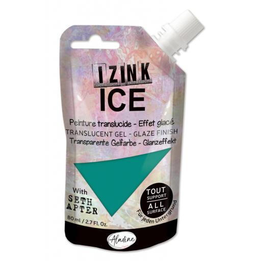 Aladine - Izink Ice Glacier Green 80ml (80378)